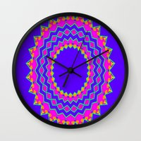 royal Wall Clocks featuring Royal by Puttha Rayan Ali