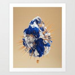 Galaxy Nug Art Print