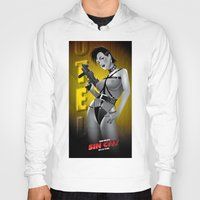 sin city Hoodies featuring Sin City-Gail by Szoki