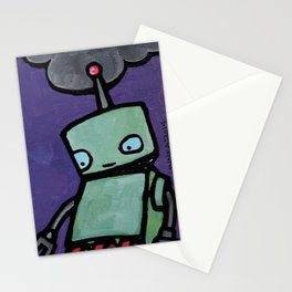 Robot - Delirious Inside Stationery Cards