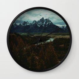 Snake River Wall Clock