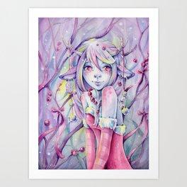 Helga Wojik: The Little Fawn Art Print