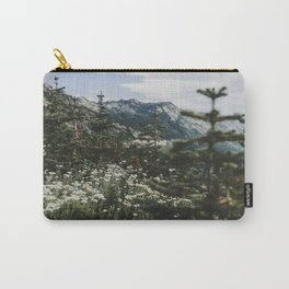 Mount Rainier Summer Wildflowers Carry-All Pouch