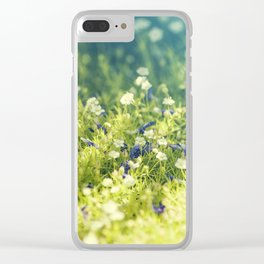 gentleness Clear iPhone Case