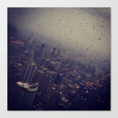 Urban Rainstorm 2 Canvas Print