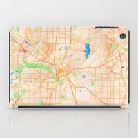 dallas iPad Cases featuring Dallas, Texas by Emily Day