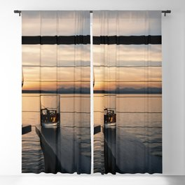 Wine and Whiskey Eve Blackout Curtain