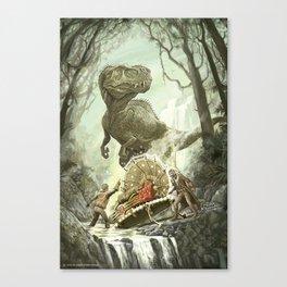 Cretaceous Conundrum Canvas Print