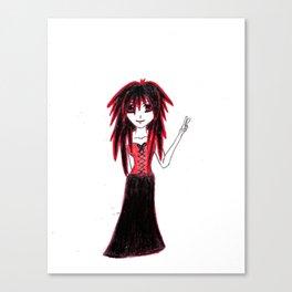 Vampira Canvas Print