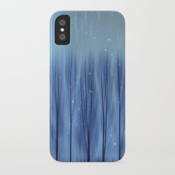 Winter Blues iPhone Case