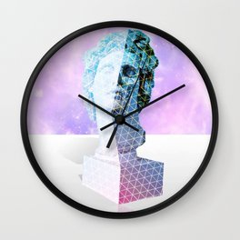 Vaporwave Aesthetics Wall Clock