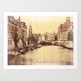 Yo Ho Holland Art Print