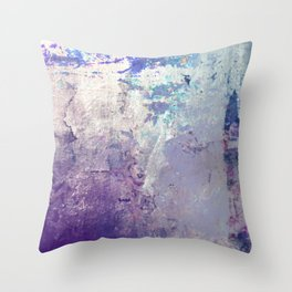 Shimmy that Purple Throw Pillow