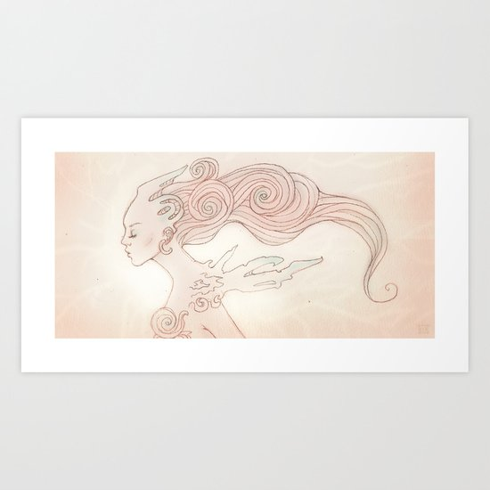 Alien Queen Art Print