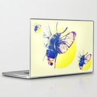 bug Laptop & iPad Skins featuring bug by Xenia Pirovskikh