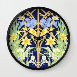 The Bee's Paradise Wall Clock
