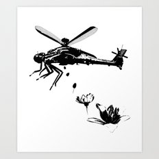 Helicopter.. Art Print