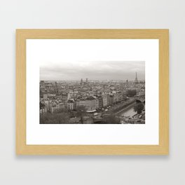 Rooftops of Paris Framed Art Print