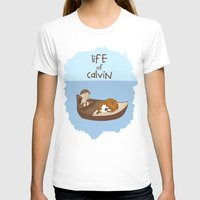 calvin hobbes T-shirts featuring Life of Calvin by Rookie Art&Illustration