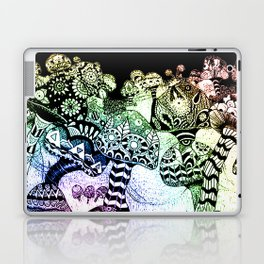 Mushroom Field Laptop & iPad Skin