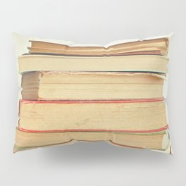 Stack of Books Pillow Sham