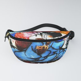 Japanese lady in kimono Fanny Pack