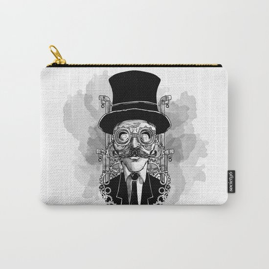 Steampunk Man Carry-All Pouch