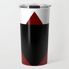 Modern Geometric Abstract Travel Mug