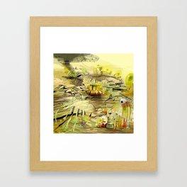 rubicon. Framed Art Print