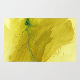 abstract thunder 2 Rug