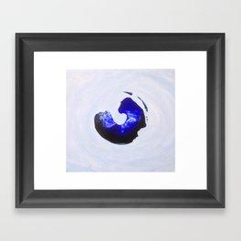 The Wave Series (x) Framed Art Print
