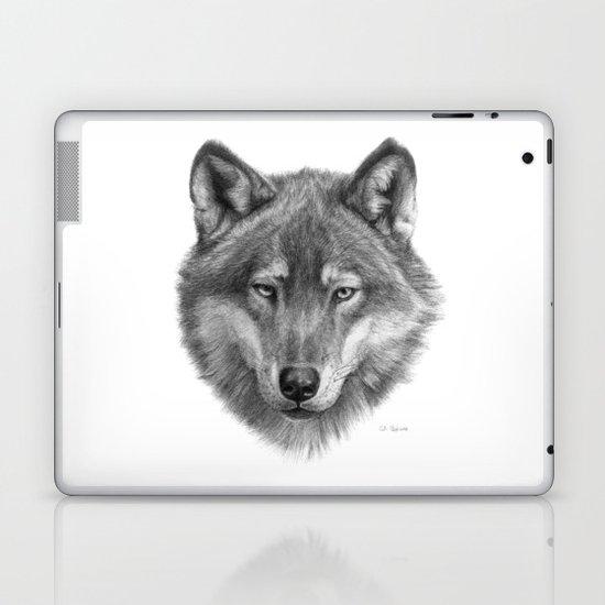 Wolf face G084 Laptop & iPad Skin
