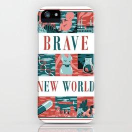 Brave New World iPhone Case