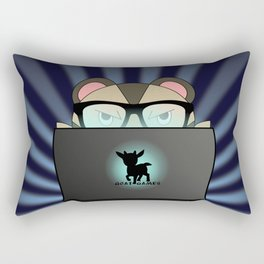 Tech Mole Rectangular Pillow