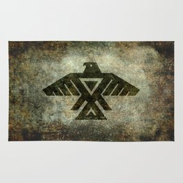 Thunderbird, Emblem of the Anishinaabe people Rug