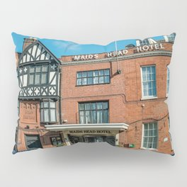 The oldest hotel in the city of Norwich Pillow Sham