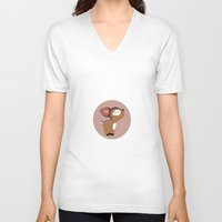 bambi V-neck T-shirts featuring BAMBI by oslacrimale