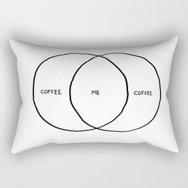 Coffee & Me Rectangular Pillow