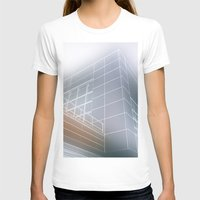 architect T-shirts featuring Minimalist architect drawing by Solar Designs
