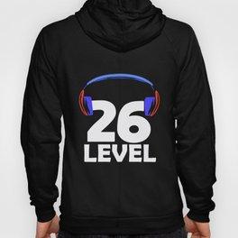 26th Birthday Gamer Video Game 26 Year Gaming Gift Hoody
