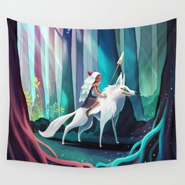 Princess Mononoke Wall Tapestry