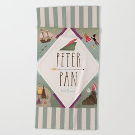 Peter Pan Beach Towel