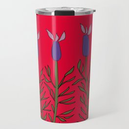 Lavender red Travel Mug