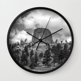 The Devils Tower Wall Clock