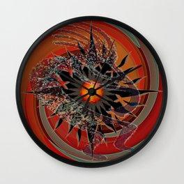 Lone Spirit Player Wall Clock