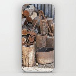 The Camp Fire iPhone Skin