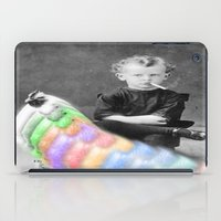 lsd iPad Cases featuring LSD Chicken by Whiteashes
