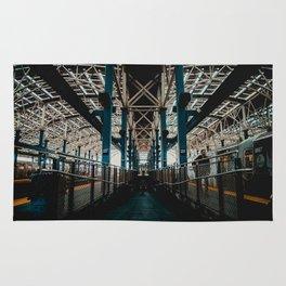 Coney Island Subway Station Rug