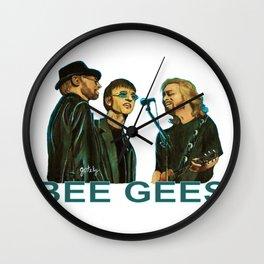 Bee Gee's Wall Clock