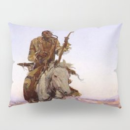 """""""A Cree Indian"""" by Charles Russell Pillow Sham"""